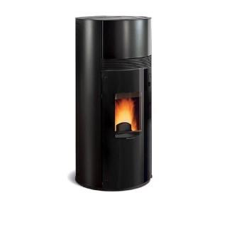 Extraflame Stufa a Pellet Doroty in acciaio colore nero con telecomando e cronotermostato settimanale 1279302 La Nordica Extr...