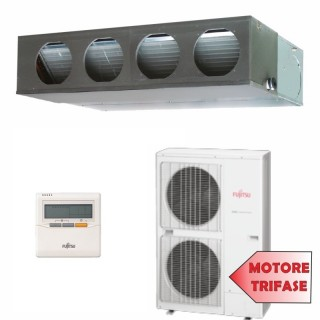 Fujitsu Condizionatore TRIFASE Mono Split Commerciale Gas R410A Canale Serie LM 45000 Btu ARYG45LMLAT AOYG45LATT / Fujitsu