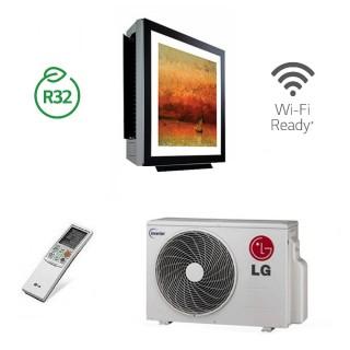 LG Condizionatore Mono Split Parete ArtCOOL Gallery gas R-32 9000 btu WiFi Ready A09FR.NSF+A09FR.UL2 A/A LG