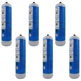 6 Bombole CO2 Usa e Getta 600gr per acqua frizzante PlanetClima