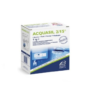 Acquabrevetti ACQUASIL 2/15 Soluzione acquosa di polifosfati / 1 ricarica da Kg. 1 PC104 Acquabrevetti