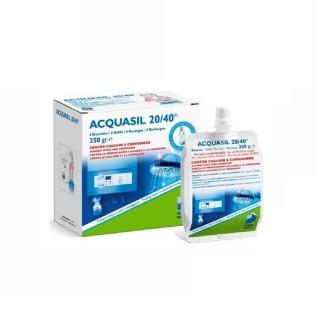 Acquabrevetti ACQUASIL 20/40 Soluzione acquosa di polifosfati con doppio effetto protettivo / 4 ricariche da gr. 250/cad PC20...