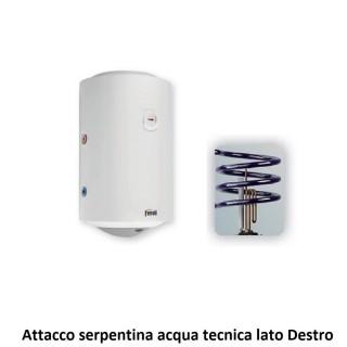 Ferroli Scaldabagno Termo Elettrico Titano MT Verticale 80 Litri Classe D Profilo di Carico M Attacco tecnico Destro Ferroli