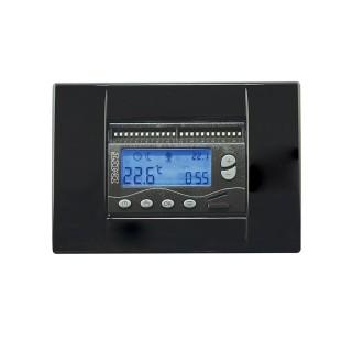 Imit Cronotermostato Giornaliero Riscaldamento e Raffrescamento Batterie Stilo Programmazione Analogica DUO 503S Imit
