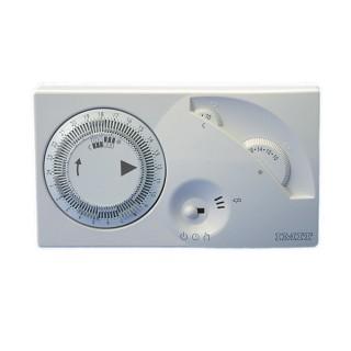 Imit Cronotermostato Giornaliero Riscaldamento Batterie Stilo Programmazione Analogica Chronomix-S Imit