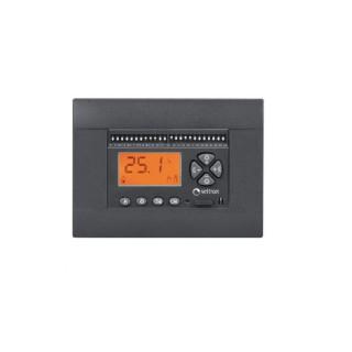 Seitron Cronotermostato Giornaliero Estate-Inverno Batterie Stilo Programmazione Digitale Antracite per Bticino Vimar Gewiss ...