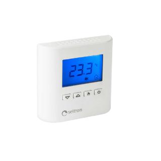 Seitron Termostato Riscaldamento e Raffrescamento 24 v Programmazione Digitale TAD022 Seitron