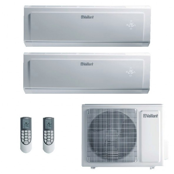 Vaillant Condizionatore Dual Split Parete Gas R-32 Serie VAI 8 9000+9000 Btu VAI 8-025 WNI VAI 8-025 WNI VAF 050W2NO A++/A+ 9...