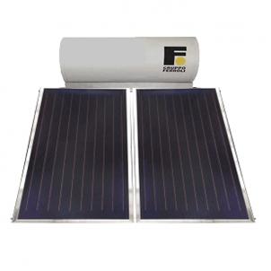 Ferroli Pannello Solare Termico 250 Litri Circolazione Naturale Modello Ecotech 250 Collettori 2