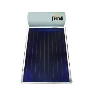 Ferroli Pannello Solare Termico 200 Litri Circolazione Naturale Modello Ecotech 200 Collettori 1 Ferroli