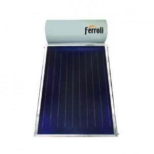 Ferroli Pannello Solare Termico 200 Litri Circolazione Naturale Modello Ecotech 200 Collettori 1