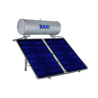 Baxi Pannello Solare Termico 300 Litri Circolazione Naturale Modello STS-300 2.0 SL Collettori 2 Baxi