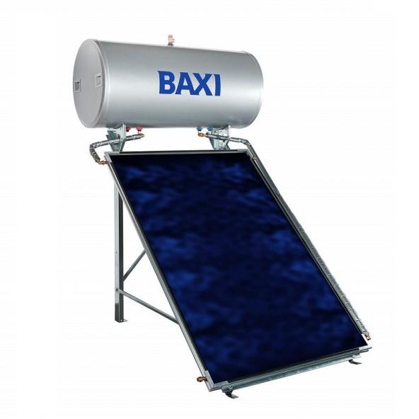 Baxi Pannello Solare Termico 150 Litri Circolazione Naturale Modello STS-150 2.0 SL Collettori 1 Baxi