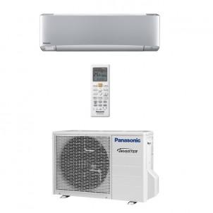 Panasonic Condizionatore Mono Split Gas R-32 Serie XZ Etherea Argento 7000 Btu WiFi Opzionale CS-XZ20TKEW CU-Z20TKE A+++/A+++