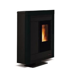 Extraflame Stufa a Pellet Canalizzata Souvenur Steel in acciaio colore nero con tel. e cronoterm. 1275753 La Nordica Extraflame