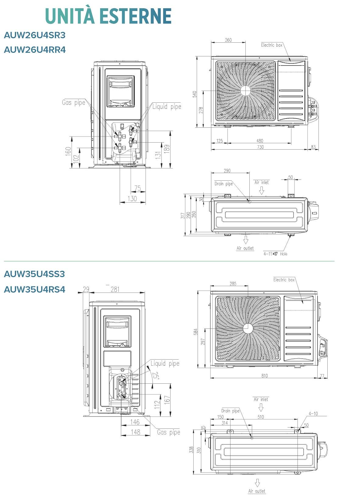 Condizionatore Hisense Commerciale 9000 Btu ADT26UX4SNL3 A++/A+
