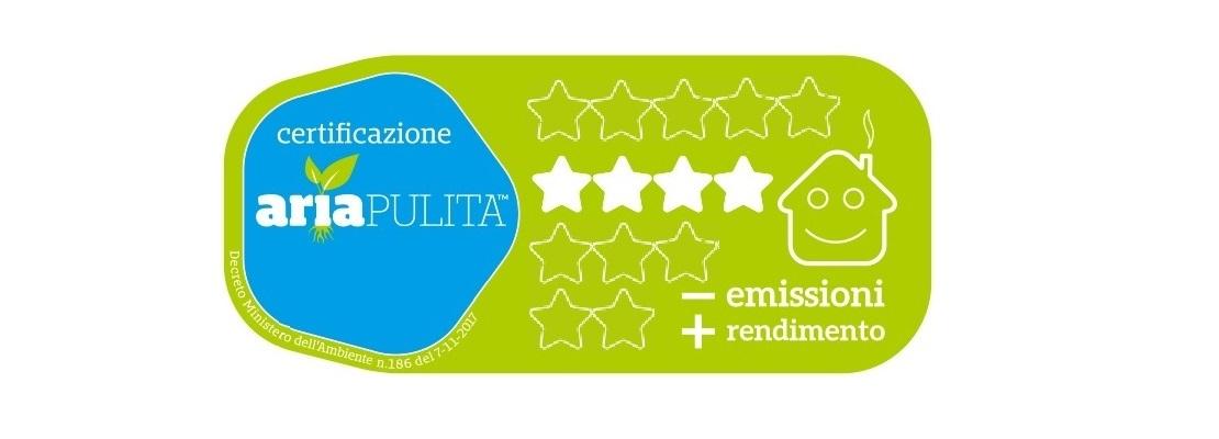 Stufa a Legna serie Top Design Flo' colore bordeaux 7114510